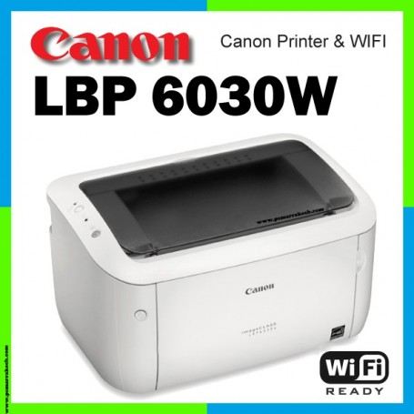 Canon i-SENSYS LBP6030w Imprimante Laser Wifi pour Windows Et Mac