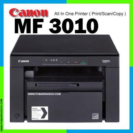 Canon MF-3010 Imprimante laser multifonction 3 en 1 noir et blanc USB