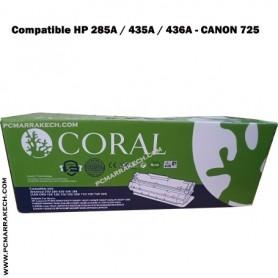 Toner Compatible HP 285A/435A/436A - CANON 725