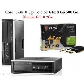 Core i5 3 éme génération Up to 3.60 Ghz 8Go 500Go Nvidia 2Go
