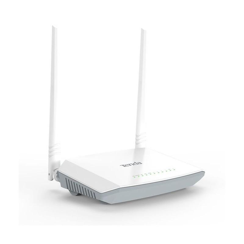 Tenda D301 V2 Modem Routeur ADSL2+ WiFi N 300 Mbps