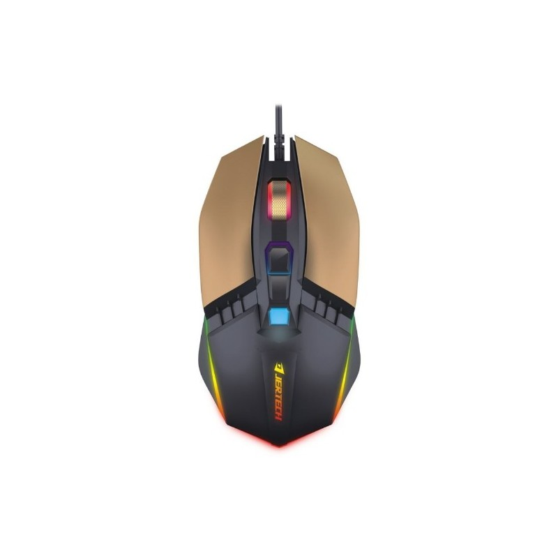 Pro Gaming Mouse Jertech Rumble JR800 RGB 4800DPI Macro