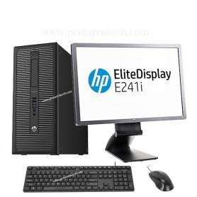 Hp Core i5-4590 8Go 500 Go Avec Ecran 24 pouce Led