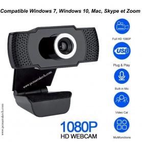 Webcam Full HD MCL Avec Micro