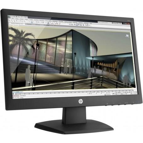 HP V193 Moniteur LCD Large 18.5 pouces (47 cm) - 1366 x 768 à 60 Hz