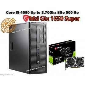 Hp Core i5-4570 UpTo 3.60Ghz 8Go 500Go Gtx 1650 Super