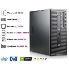Hp Core i5-4570 UpTo 3.60Ghz 8Go 500Go Gtx 1650 Super