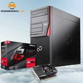 Fujitsu Core i5-4570 Up To 3.60GHz 8 Go 500 Go RX 550 2Go