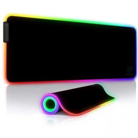 GameYes Tapis de Souris Gamer Lumineux, avec LED RGB 800x300 MM