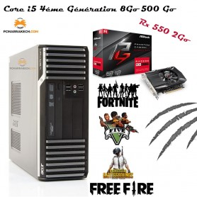 Acer Core i5-4460 Up To 3.60 Ghz 8 Go 500 Go Rx 550 2Go