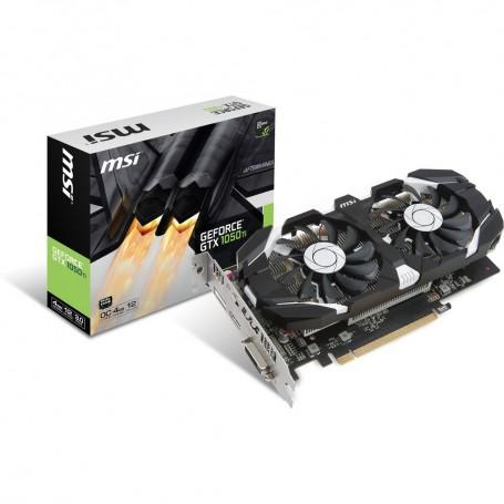MSI GeForce GTX 1050 TI 4Go OC