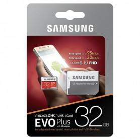 Samsung 32 Go EVO Plus Micro SD Classe 10